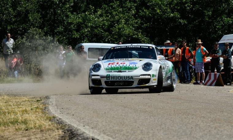 Sergio Vallejo-Antonio Boto. Porsche 997 GT3. Foto: Andrés Bueno