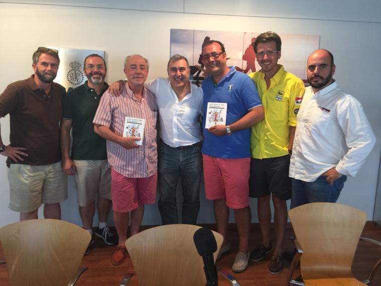 Carlos Enríquez de Salamanca, Fernando González, Antonio Boto, José Manuel Zapico, Ramón Biosca, Diego Merino y Oscar Bartol
