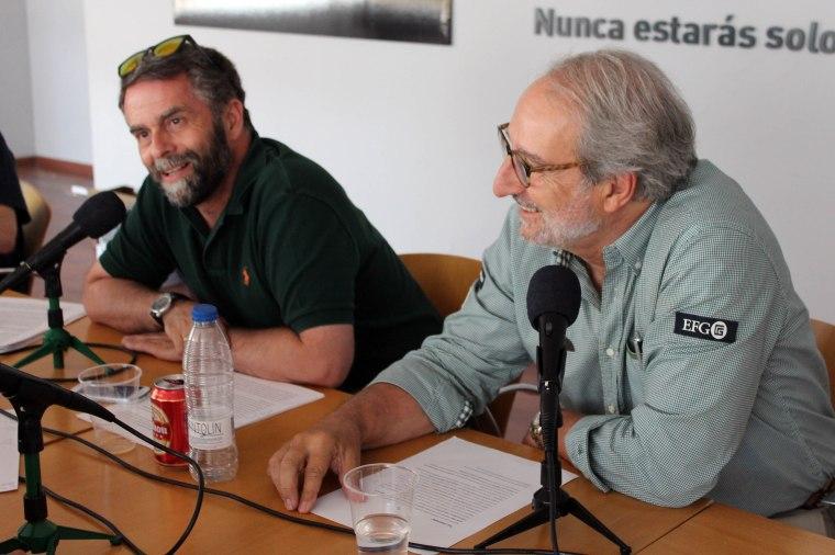 Carlos Enríquez de Salamanca y Guillermo Velasco